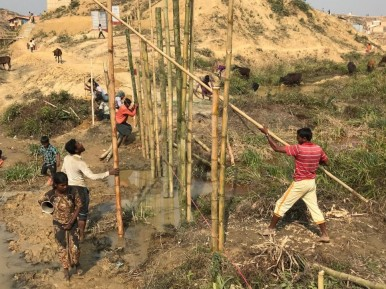 UNHCR Highlights Situation of Rohingya Muslims in No Man's Land